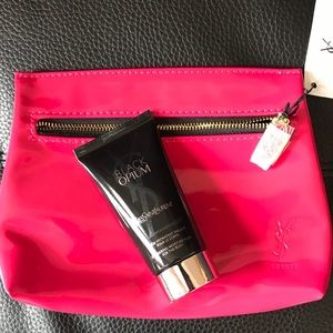 YSL Cosmetic bag with body shimmer